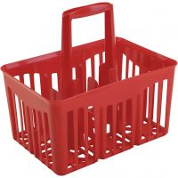 PRIMO paints basket, red, 1 pc