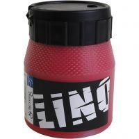 Block Printing Ink, red, 250 ml/ 1 tub