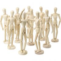 Mannequins, H: 29 cm, 10 pc/ 1 pack