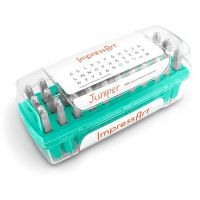 Embossing Stamps, Capital letters and characters, size 3 mm, Font: Juniper , 33 pc/ 1 set
