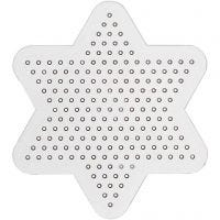 Peg Board, Small star, D: 10 cm, 10 pc/ 1 pack