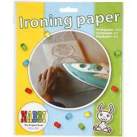 Nabbi Ironing Paper, size 16x16 cm, transparent, 8 sheet/ 1 pack
