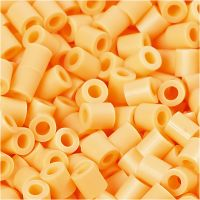 PhotoPearls, size 5x5 mm, hole size 2,5 mm, light orange (26), 1100 pc/ 1 pack