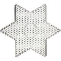 Peg Board, big star, size 15x15 cm, 10 pc/ 1 pack