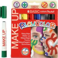 Playcolor Make Up, assorted colours, 6x5 g/ 1 pack