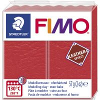 FIMO® Leather Effect , watermelon (249), 57 g/ 1 pack