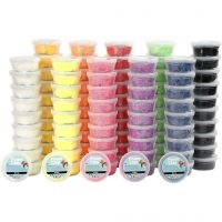 Foam Clay®, assorted colours, 10x10 tub/ 1 pack