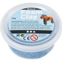 Foam Clay®, metallic, blue, 35 g/ 1 tub