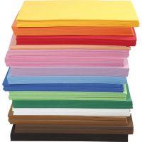 EVA Foam Sheets, A4, 210x297 mm, thickness 2 mm, 15x10 sheet/ 1 pack