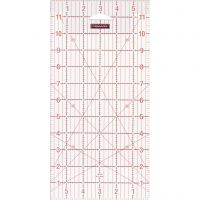 """Quilting ruler, size 6x12 """" cm, 1 pc"""