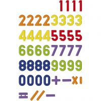 Magnetic numbers, 48 pc/ 1 pack
