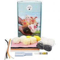 Easter Pom-pom Animal Kit, 1 set