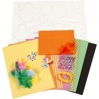 DIY Decorating Kit, bold colours, 1 set