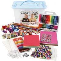 Craft Box Set, assorted colours, 1 pc