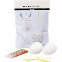Mini Creative Kit, hanging egg, 1 set