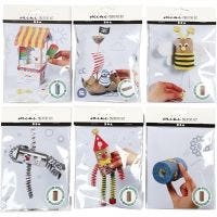 Creative mini kits, 6 set/ 1 pack