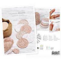 Postcard , Create reusable cotton pads, A5, 14,8x21 cm, 1 pc