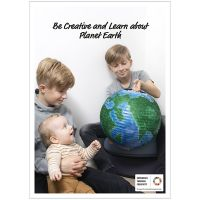 Poster, Create and learn about planet Earth, 50x70, 29,7x42, 21x30 cm, 4 pc/ 1 pack