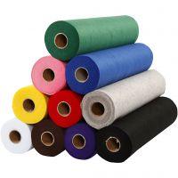 Craft Felt, W: 45 cm, thickness 1,5 mm, 180-200 g, 10x5 m/ 1 pack