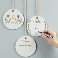 Draw on hanging platters with Chalk Markers