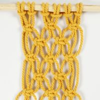 How to tie alternating square knots